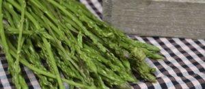 Espàrrecs de marge amb pèsols