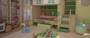 Habitacions infantils i juvenils