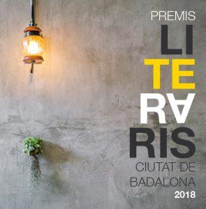 Premis literaris 2018 BADALONA