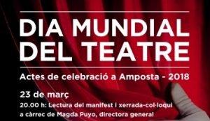 Dia Mundial del Teatre 2018