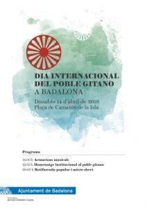 Dia Internacional Poble Gitano - Badalona, 14 d'abril
