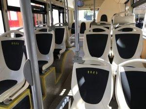 Interior autobus- Badalona B5