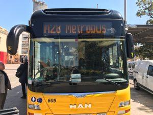 resentació Metrobus 3, M27- M28