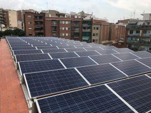 Planta fotovoltaica CC La Salut