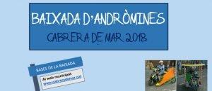 Baixada Andròmines Cabrera de Mar 2018