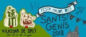 Festa Major dels Sants Genís 2018