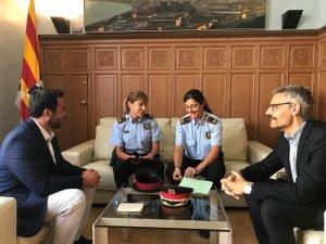Tobada amb Mossos I Alcalde de BDNA