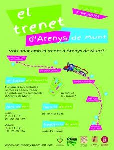 TRENET ARENYS DE MUNT