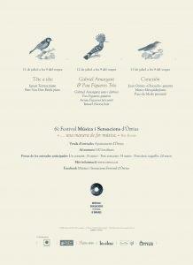 6è Festival Música i Sansacions d'Òrrius