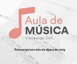 Les aules de música i dansa obren el període de preinscripcions aquest mes de maig