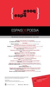 ESPAIDEPOESIA Alella 2020, de setembre a desembre