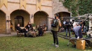 El Castell de Santa Florentina acull el rodatge de 'Glow and Darkness'