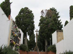 El cementiri d'Alella obrirà amb mesures preventives del 28 d'octubre al 3 de novembre
