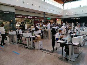 Salut realitza a Mataró el primer cribratge massiu en un centre comercial
