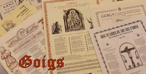 Una donació incrementa la col•lecció de Goigs de la Biblioteca de Canet de Mar
