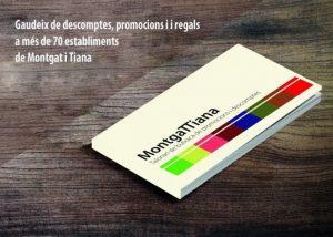 Arriba la tercera edició del Talonari Montgattiana, ple d'ofertes fins al 31 de gener