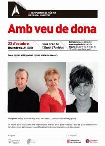 2n concert de la IX Temporada de Música a l'Espai l'Amistat de Premià de Mar