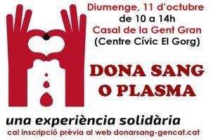 Donació sang i Plasma Sant Vicenç