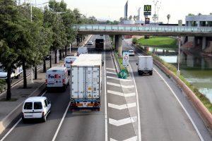 La ronda Litoral patirà restriccions durant el cap de setmana per unes obres de renovació del paviment