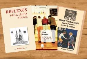 Noves publicacions d'escriptors d'Arenys de Munt