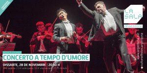 Devolució d'entrades Concerto a Tempo d'Umore per aquells espectadors de fora d'Argentona