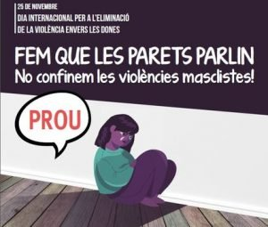 Badalona commemora el pròxim 25 de novembre el Dia Internacional per a l'eliminació de la violència envers les dones amb un acte de ciutat