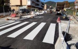 Comencen els treballs d'asfaltatge en l'àmbit de Cabrils2