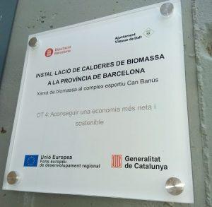 Finalitzen, a Vilassar de Dalt, el treballs d'instal•lació de la caldera biomassa