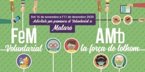 La campanya 'Fem Voluntariat amb la força de tothom' posa en valor la tasca de les persones voluntàries a la ciutat de Mataró