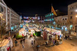 Suspesa la Fira de pessebres i ornaments de Nadal de Mataró,