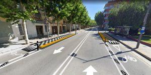 Comencen les obres del carril bici més gran que s'ha fet a Badalona i que unirà la ciutat amb Montgat