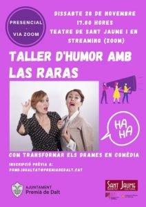 Las Raras tornen a Premià de Dalt per a commemorar el 25N