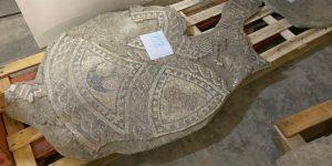 Tornen a Premià de Mar els mosaics romans descoberts el 1969