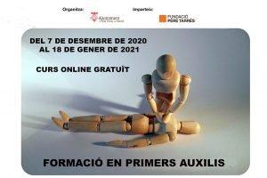 La Regidoria de Joventut de Sant Vicenç de Montalt organitza un curs online de primers auxilis