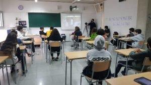Ajuntament i Diputació ofereixen tallers a l'Institut Turó d'en Baldiri de Teià