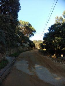 Comencen els treballs de millora del camí de la Costa a Vilassar de Dalt