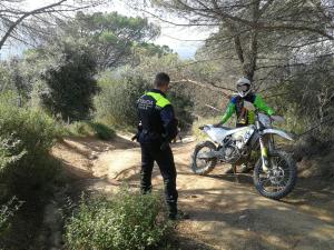 Campanya de control de l'accés de vehicles motoritzats a l'entorn natural