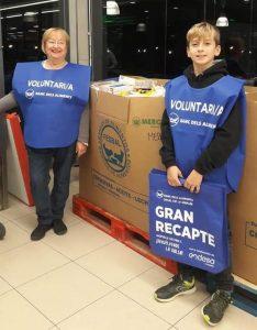 Busquen voluntaris per a la campanya del Gran Recapte a Teià Fidels al seu compromís, els voluntaris i voluntàries de Caritas Teià organitzen