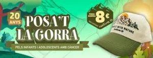 """""""Posa't la Gorra!"""" 20è aniversari. Els Mercats de Barcelona amb el Càncer Infantil."""