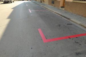 La zona blava d'estacionament d'Argentona, passarà a ser vermella a partir de l'any vinent