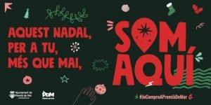 """""""Som aquí"""" Campanya de Nadal a Premià de Mar"""