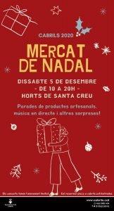 El Mercat de Nadal arriba aquest dissabte a Cabrils