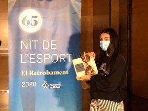 La jugadora d'hoquei patins Aina Florenza és la millor esportista de Mataró del 2019