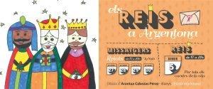 Arribada dels missatgers i els Reis d'Orient a Argentona