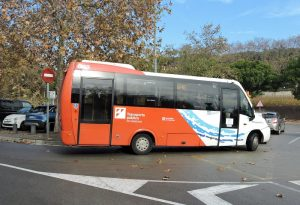 Les línies de bus d'Alella s'ajusten a la demanda; el transport públic és un dels serveis més afectats per la pandèmia
