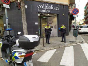 La Policia Local de Mataró intensifica la vigilància a les farmàcies per prevenir robatoris amb força