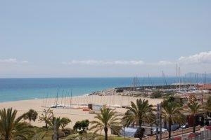 l'Ajuntament del Masnou s'oposa a la construcció d'un espigó a la platja d'Ocata