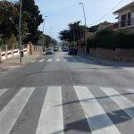Nou pas elevat de vianants a la cruïlla del carrer de la Unió de Premià de Mar amb la carretera de Vilassar de Dalt
