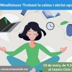 Taller de Mindfulness organitzat per La Regidoria de Promoció Econòmica i Ocupació de Sant Vicenç de Montalt
