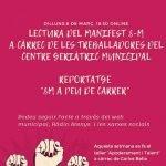 Actes 8-M a Arenys de Mar, Dia internacional de les Dones